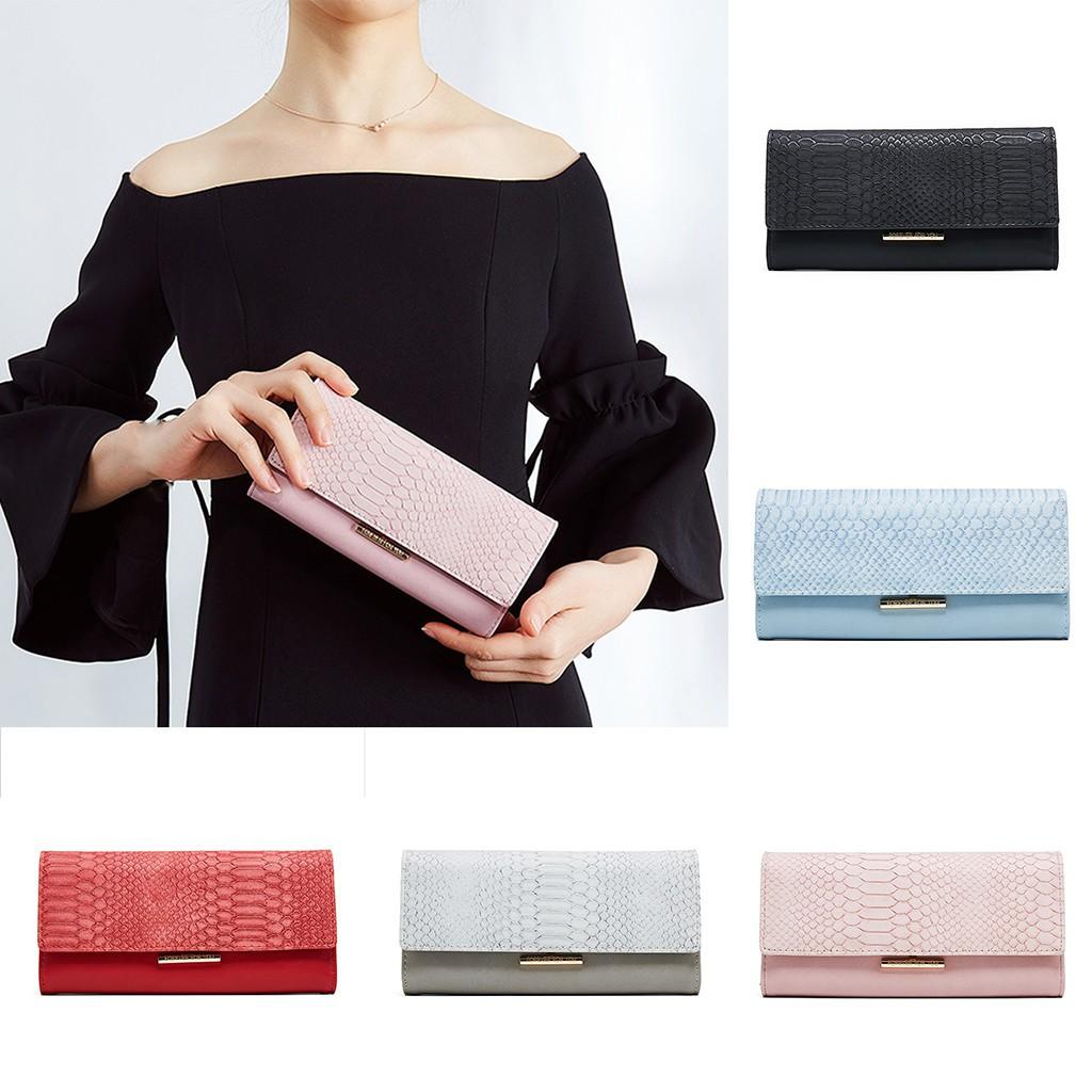 Women's New Long Hand With A Purse Stitching Irregular Wallet