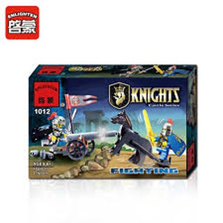 Bộ ráp hình lego kỵ sĩ enlighten 1012