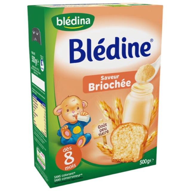 Bột pha sữa Bledine 8M vị bánh mỳ 500g - bột lắc sữa Bledina