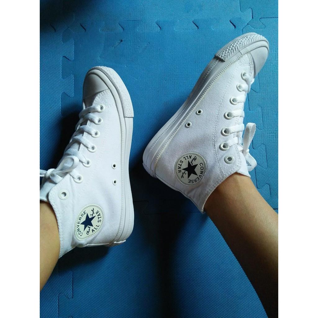 [GIẢM GIÁ GỐC] Giày Converse Chuck 2 cổ cao màu Trắng