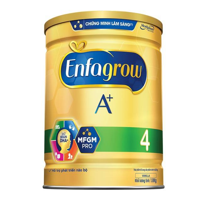 [Tặng vali vịt vàng] Combo 2 lon Sữa bột Enfa A + 4 1750g/lon