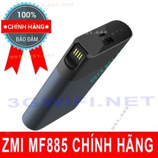 (Rẻ Vô Địch) Bộ Phát Wifi 4G ZMI MF885 Xiaomi Pin 10000mAh Cực Khủng Kiêm Sạc Dự Phòng