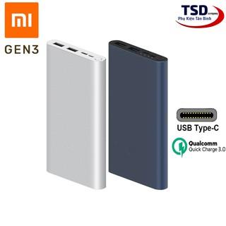 Pin Sạc Dự Phòng Xiaomi 10000mAh Gen 3 New 2020 Sạc Nhanh QC 3.0