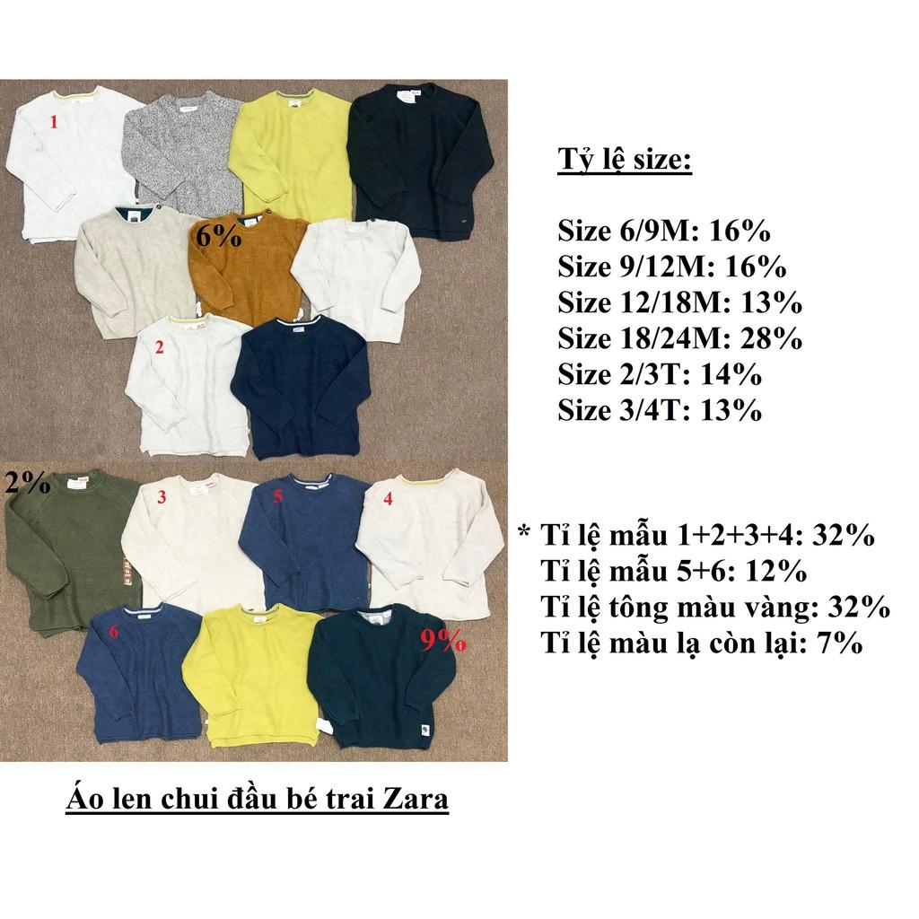 Áo len chui đầu bé trai Zara ( sỉ ri 15 ) - msp : 1709 - 3504667 , 1351072196 , 322_1351072196 , 1830000 , Ao-len-chui-dau-be-trai-Zara-si-ri-15-msp-1709-322_1351072196 , shopee.vn , Áo len chui đầu bé trai Zara ( sỉ ri 15 ) - msp : 1709