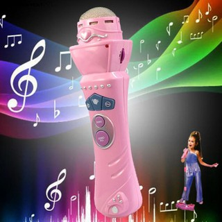 Girls Boys LED Microphone Mic Karaoke Singing Funny Toy