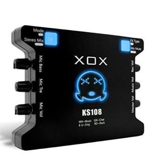 [Mã ELMSBC giảm 8% đơn 300K] [Freeship toàn quốc từ 50k] Sound Card XOX KS108