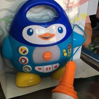 [siêu rẻ] Bộ đồ chơi phát nhạc chim cánh cụt WinFun