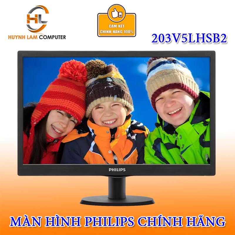 Màn hình máy tính 20 inch Philips 203V5LHSB2 VGA/HDMI chính hãng DGW phân phối