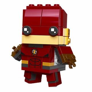 Đồ chơi lắp ráp giáo dục Decool Cute Doll siêu nhân anh hùng The Flash