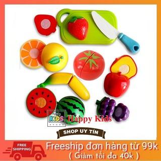 Đồ chơi cắt hoa quả, cắt trái cây an toàn cho bé