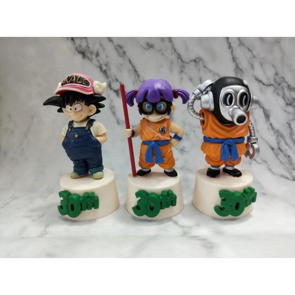 Dragon Ball 30th Anniversary Awards F rewards Sun Wukong Bird Mountain Ming Ala Lei Doll Boxed Action Figures