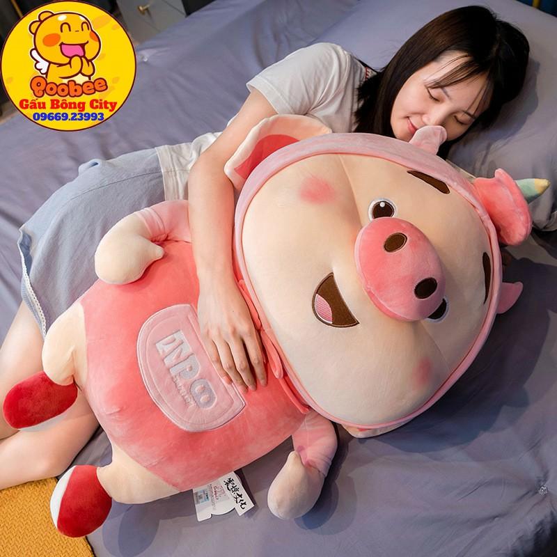 Gấu Bông Heo Lợn Tik Tok Cosplay Hồng Siêu Đáng Yêu Quà Tặng Cao Cấp