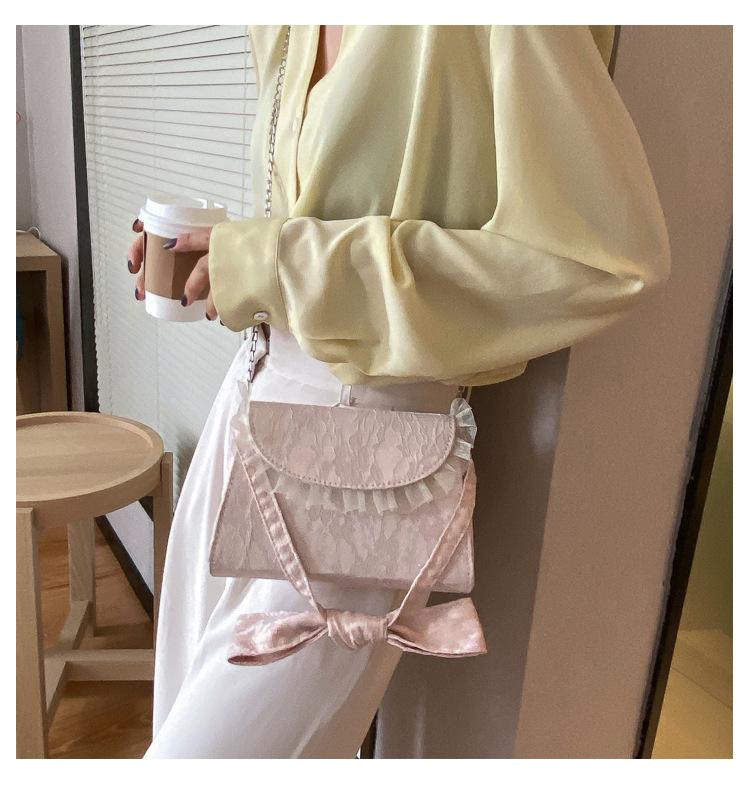 Túi xách vải ren thắt nút phong cách thời trang nữ MIGU.VN Túi xách nữ giá rẻ