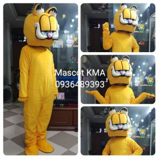 Quần áo hoá trang Mascot Mèo Garfield – sinh nhật, sự kiện