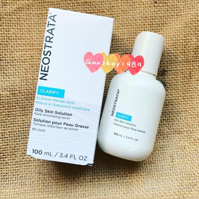 [NEOSTRATA] [Bản Mỹ, 100ml] Toner Neostrata AHA 8 Oily Skin Solution