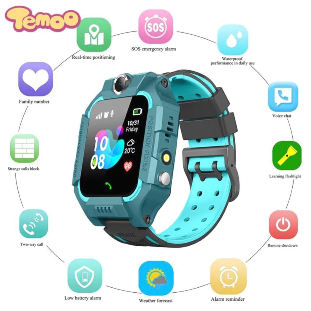 Q19 Swimming Waterproof Kids Smart watch LBS Smartwatches Baby Watch Children SOS Call Location Locator Tracker Anti Lost smart watch jam telefon jam