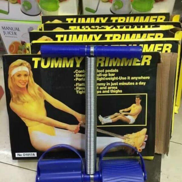 Dây tập cơ bụng lò xo tummy trimmer