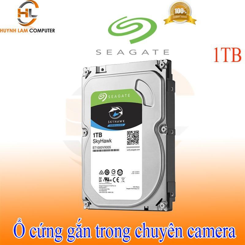 Ổ cứng gắn trong 1TB – Ổ cứng gắn trong 1TB Seagate Skyhawk chuyên camera chính hãng Viễn Sơn phân phối Giá chỉ 945.700₫
