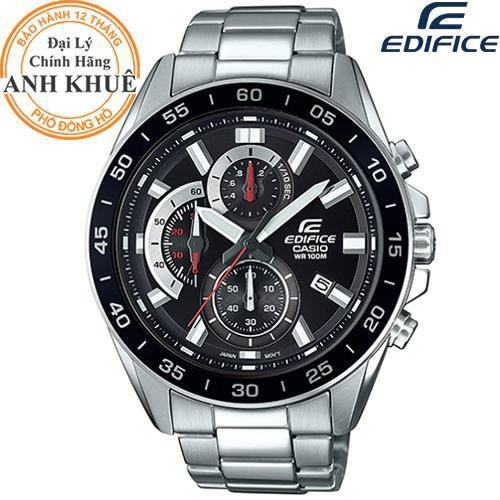 Đồng hồ nam EDIFICE chính hãng Casio Anh Khuê EFV-550D-1AVUDF