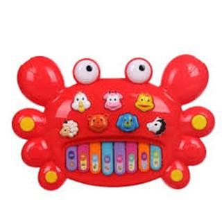 Đàn piano hình con cua cho bé