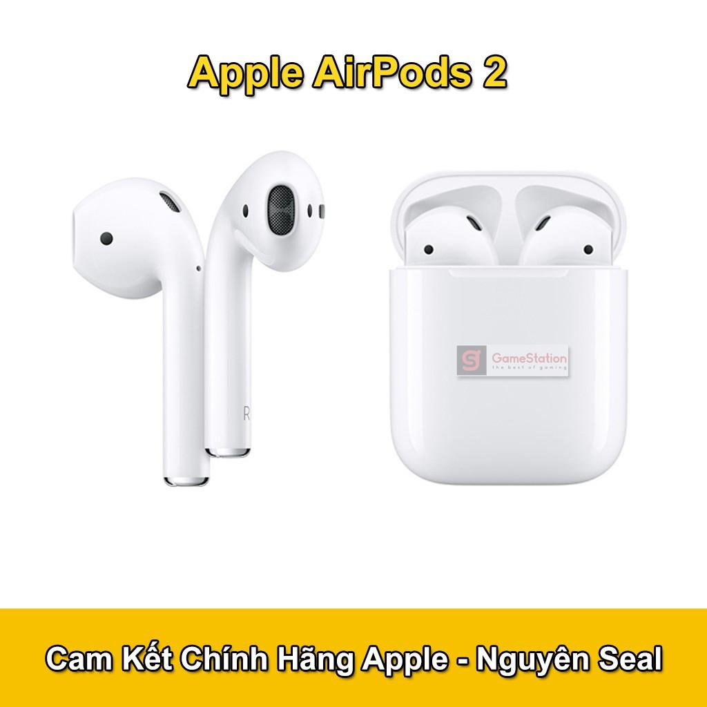 Tai Nghe Bluetooth Apple AirPods 2 True Wireless (Hộp sạc thường) - Hàng Nhập Khẩu