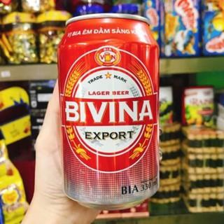 Thùng BIA BIVINA Export 24 lon 330ml chính hãng.