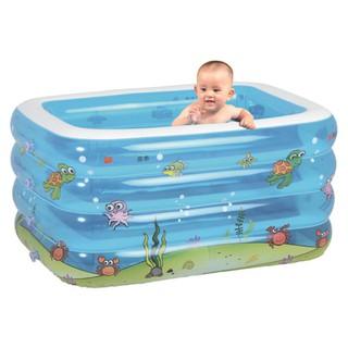Bể Bơi 4 Tầng Cho Bé Intime Cao Cấp Cỡ Lớn + Kèm Phao Đỡ Cổ