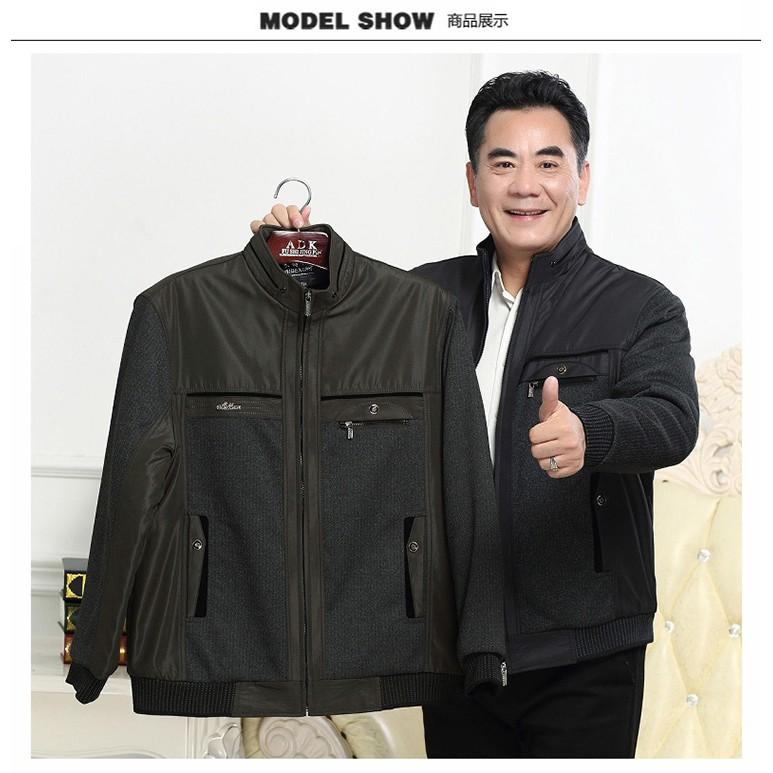 Áo khoác thời trang nam trung niên