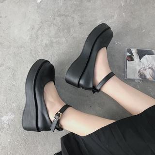 Giày da Mary Jane phong cách thời trang Nhật Bản thumbnail