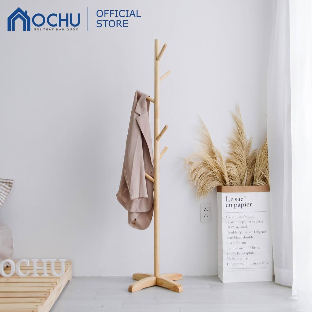 Cây Treo Quần Áo Đứng Bằng Gỗ OCHU - Standing Hanger - Natural