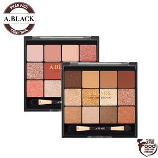 Bảng Phấn Mắt 12 Màu Siêu Lấp Lánh A.Black Glam Change Multi Palette 14.4g thumbnail