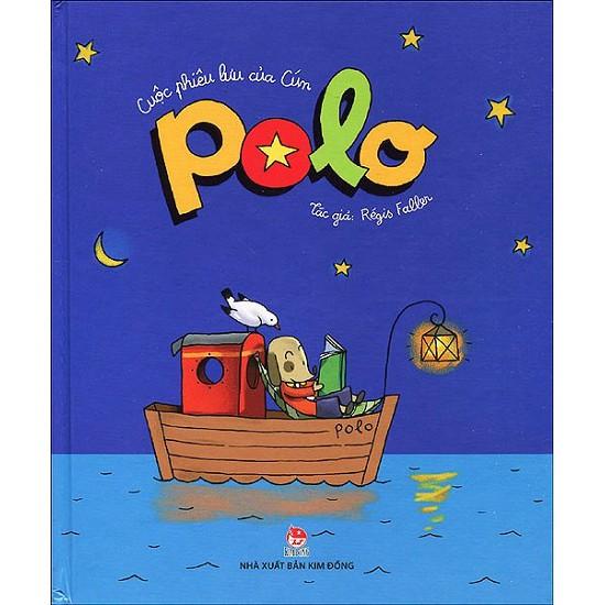 Sách -Cuộc phiêu lưu của Cún Polo