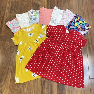 ✔️8-20kg✔️ Váy dáng babydoll có nẹp tay áo hàng VNXK cực xinh BẢNG MÀU 2