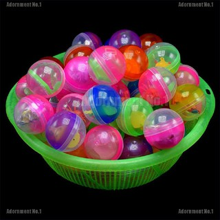 [AdornmentNo1] 10pcs 45mm plastic balls capsules toys with different small toys vending machine