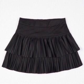 Sỉ bigsize chân váy 2 tầng dập ly