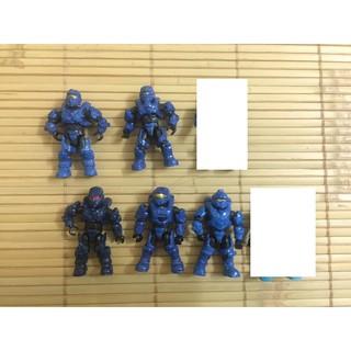 mô hình megabloks halo spartan xanh biển 130k/1 mini