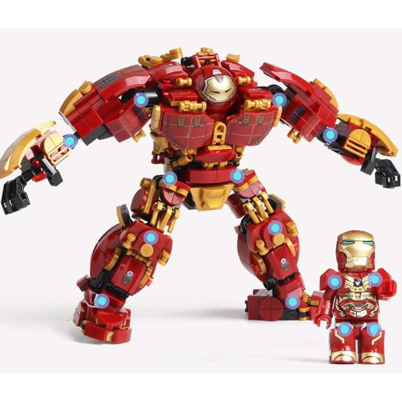 Đồ chơi Lắp ghép Mô hình Người Sắt 76015 đồ chơi Quà cho các bé trai