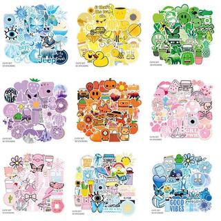 50 Miếng Sticker Dán Vali Dễ Thương Chống Thấm Nước thumbnail