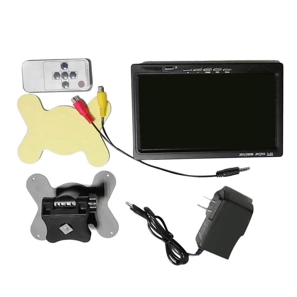 7 Inch HD LED Touch Screen Display AV/VGA/HDMI Security Monitor US Plug Giá chỉ 968.000₫
