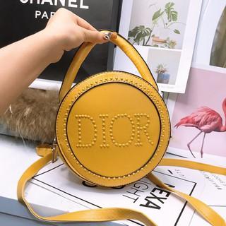 Túi tròn mini mẫu mới túi xách nữ hình tròn thời trang hàng VNXK loại 1 + Ảnh tự chụp