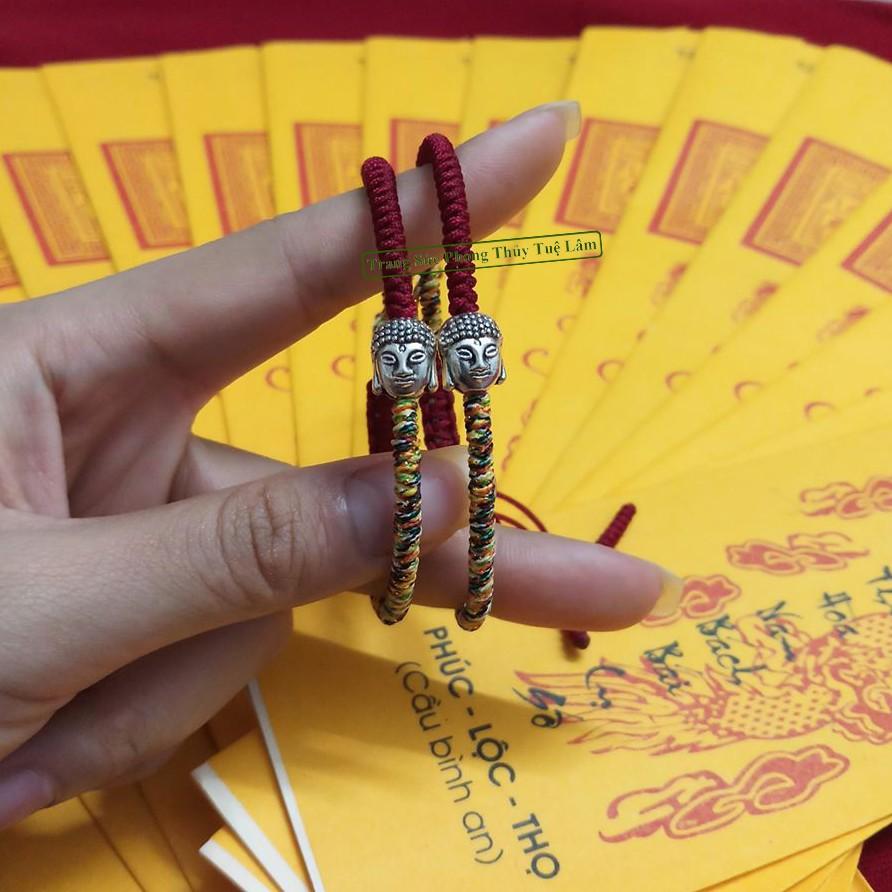 [Mới Nhất] Vòng Chỉ Đỏ Charm Mặt Phật Nhỏ