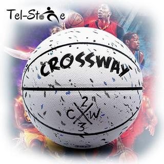 [Bóng rổ da] Crossway-White (tặng kèm lưới, kim bơm, bơm mini) thumbnail
