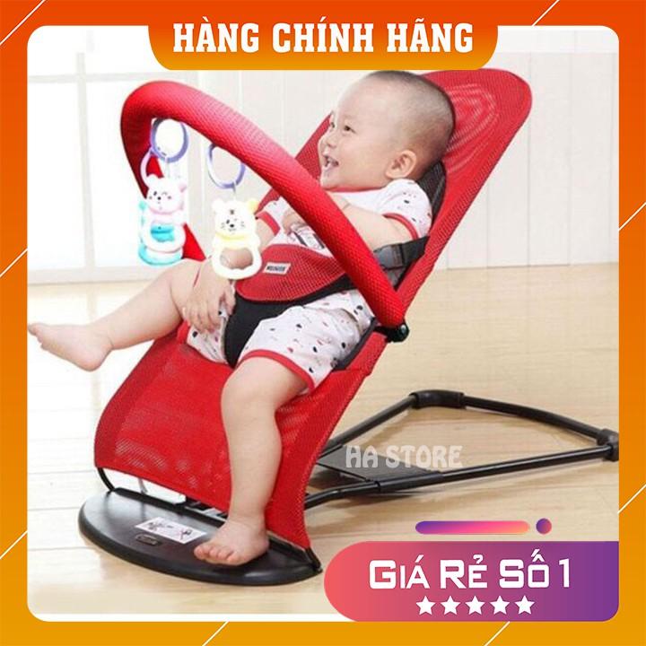 Ghế rung cho bé, ghế nhún cho bé tặng kèm thanh treo đồ chơi MBPHUNG100