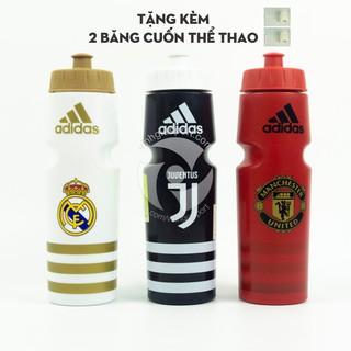 Bình nước thể thao Adidas 750ml (tặng kèm 2 băng cuốn thể thao)