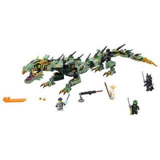 [Mã NOWSHIPMOI hoàn 100% xu đơn 0Đ] Lego Ninja Bela Rồng Xanh huyền thoại khổng lồ 10718