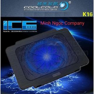 Đế Tản Nhiệt Laptop COOL COLD K16 (1 Fan to) - Hàng Chính Hãng thumbnail