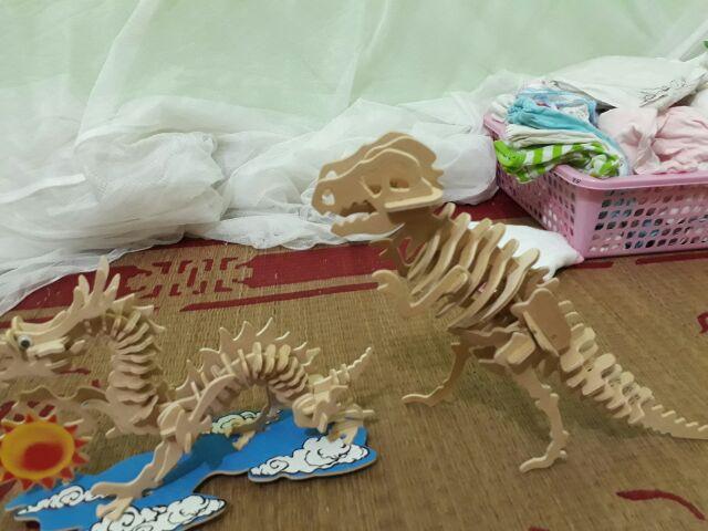 Mô hình Đồ chơi lắp ráp 3D bằng gỗ