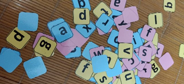 Bộ chữ 26 chữ cái tiếng anh