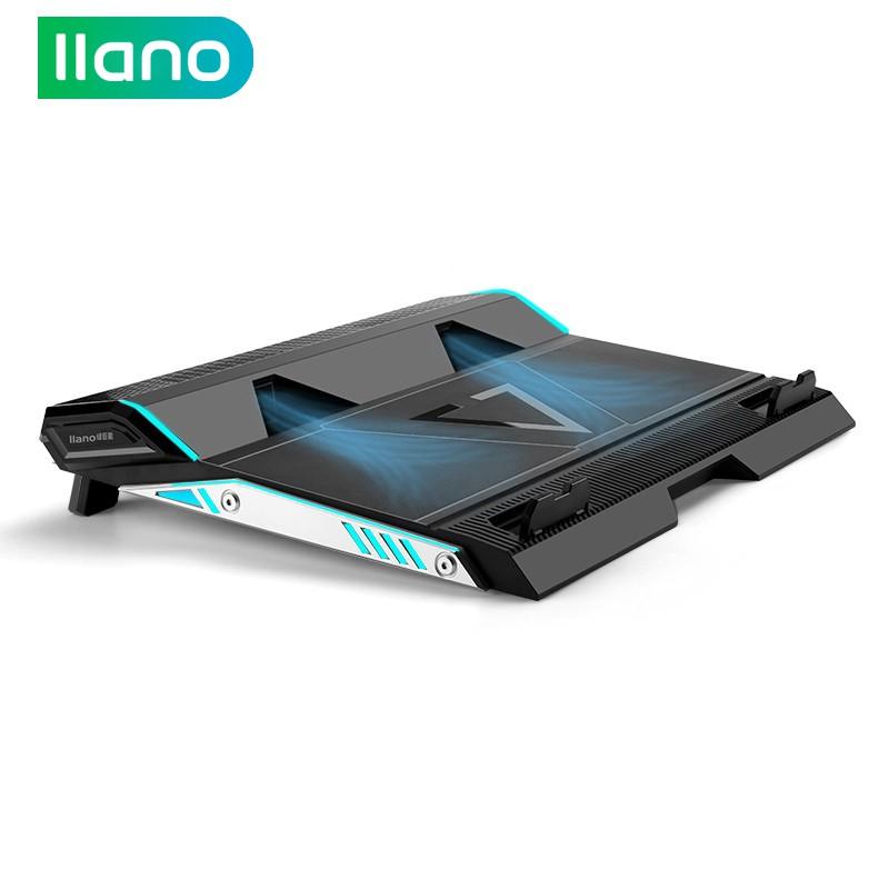Đế tản nhiệt llano hỗ trợ chơi game tiện dụng cho laptop 14/15.6/17inch
