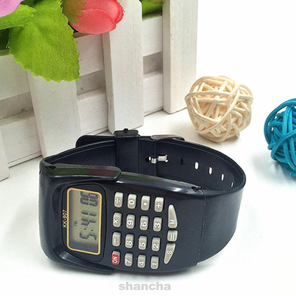 Date Digital Display Electronic Mini Practical Wrist Multifunctional